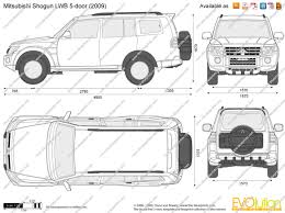 mitsubishi shogun 2005 the blueprints com blueprints u003e cars u003e mitsubishi u003e mitsubishi