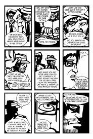 issue 1 pg 2 bloodandsmoke comic webcomic noir art blood