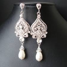 chandelier wedding earrings lighting vintage bridal chandelier earrings vintage bridal
