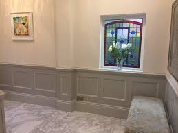 panelled walls entrance hall beaded panelling moulding interior pinterest