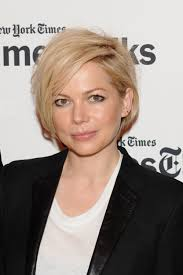 fgrowing hair from pixie to bob michelle williams grows hair from pixie to asymmetrical bob