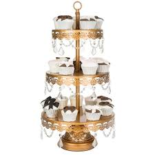 chandelier cupcake stand 3 tier draped antique gold cupcake stand amalfi decor au