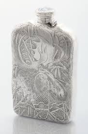 Silver Accessories 53 Best Antique Flasks Images On Pinterest Flasks Silver
