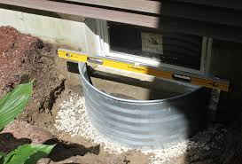 basement window well how to install a window well pro construction guide