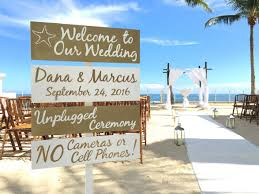 Wedding Gift Destination Wedding Gold Welcome Wedding Sign Beach Wedding Decor Directional Sign