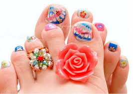 christmas toe nail art designs feet nail art latest beauty