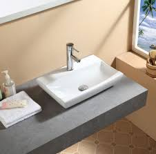 compact cloakroom bathroom countertop ceramic basin sink 6 stylish