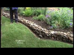 How To Build A Rock Garden Bed Garden Rock Wall