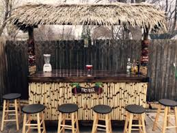 Tiki Outdoor Furniture by Tiki Bars And Tiki Huts For Sale White Sands Tiki Bars Sales And