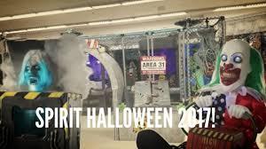 spirit halloween super store spirit halloween 2017 third trip youtube