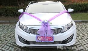 car decorations how to decorate a wedding car with flowers 14503