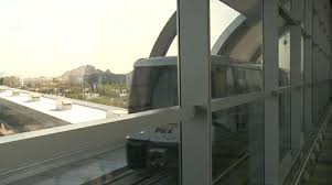 light rail to sky harbor ready to roll free automated phx sky train debuts april 8