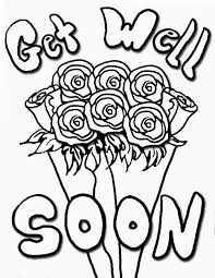 get well soon kid get well coloring pages get well soon coloring pages 22 on