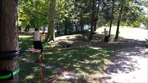 slackline frisbee in gleisdorf austria youtube