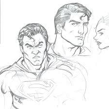 superman sketches by redmasker on deviantart