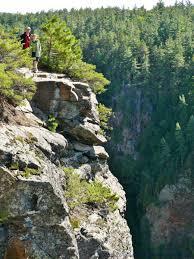 Algonquin Park Interior Camping Canyon Algonquin Park Barron Canyon Gorge Valley Ontario