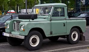 land rover pickup truck file land rover series iii pick up u2013 frontansicht 5 juli 2014