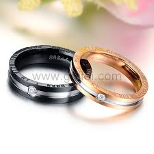 promise rings for men personalized matching promise rings for him and set of 2