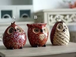 Owls Home Decor Aliexpress Com Buy Home Decor Ceramic Owl Modern Fashion Owl