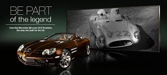 mercedes charity mercedes slr roadster to be auctioned for charity autoevolution