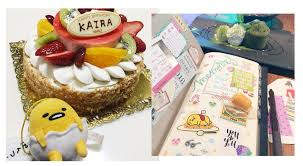cuisine kawaii how i spent my birthday my kawaii bullet journal the