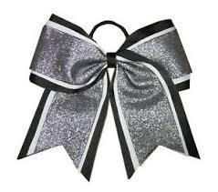 african american cheer hair bows new shimmer black cheer bow pony tail 3 ribbon girls hair bows