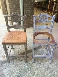 distressed paris grey bar stools hometalk