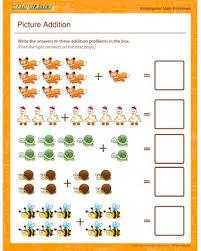 math for kindergarten worksheets worksheets