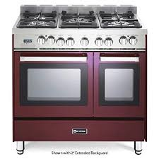 Verona Appliances Dealers Verona Range 100 Kitchen Range   amazon com verona vefsge365ndbu 36 quot double oven dual fuel