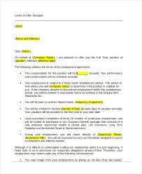 offer letter templates in doc 50 free word pdf documents