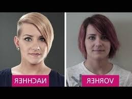 Frisuren Mittellange Haar Vorher Nachher by Kurzhaarfrisuren Damen Vorher Nachher Frisurentrends 2017 Für