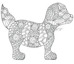christmas puppy coloring pages print dog u2013 vonsurroquen