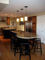 big kitchen islands 11 unfinished basement ideas on a budget
