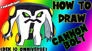 how to draw cannonbolt from ben 10 omniverse youcandrawit ツ