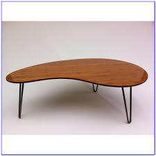 kidney shaped coffee tables coffee table home furniture ideas