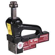 Husky Floor Nailer by Powernail 16 Gauge Manual Hardwood Floor Ratcheting Surface Nailer