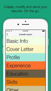 resume builder pro app review apppicker