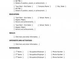Fresher Resume Headline Examples by Download Basic Resume Sample Haadyaooverbayresort Com