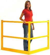 Temporary Handrail Systems Mezzanine Platform U0026 Pick Module Fall Prevention Cisco Eagle