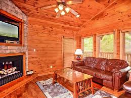 luxury 2 story 1 bedroom cabin in gatlinburg falls resort