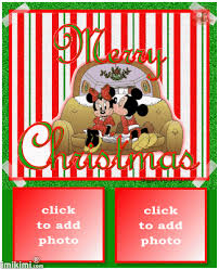 merry christmas mickey u0026 minnie mouse picture frames imikimi
