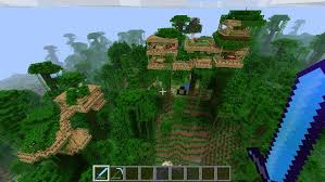 treehouse village minecraft project