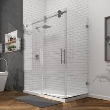 shop bathtub u0026 shower door glass at lowes com