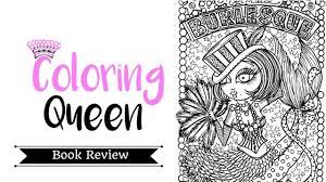 mermaid burlesque coloring book review