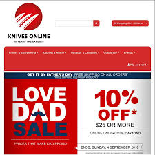 10 off everything free shipping at knives online com au global