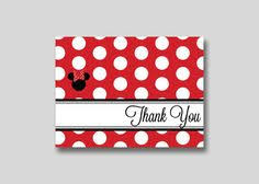 minnie mouse thank you cards mickey minnie mouse thank you card diy printable trendy