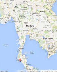 map of thailand phi phi islands on map of thailand world easy guides