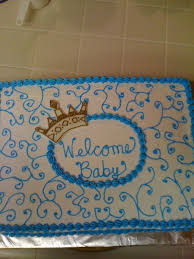 prince baby shower cakecentral com