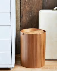 ayous paper waste basket with lid small u2013 nalata nalata