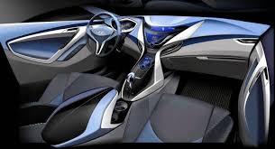 Hyundai Elentra Interior 2011 Hyundai Elantra Interior Teaser Autoevolution